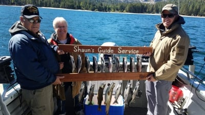 Donner lake fish report 10-8-18