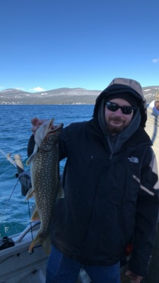 Lake Tahoe fishing report 3-30-19