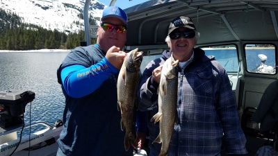 Donner lake fishing report 5-01-19