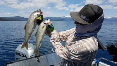 Tahoe fishing report 5-08-19